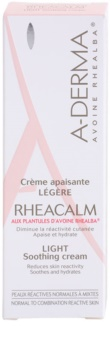 A-Derma Rheacalm crema calmante para pieles normales y mixtas