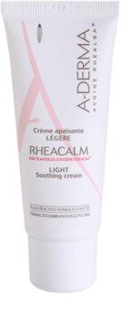A-Derma Rheacalm creme apaziguador para pele normal a mista