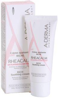 A-Derma Rheacalm Tápláló nyugtató krém száraz bőrre