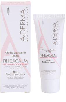 A-Derma Rheacalm поживний заспокоюючий крем для сухої шкіри