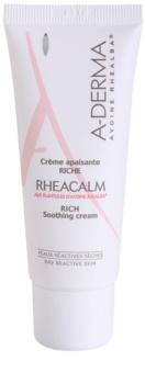 A-Derma Rheacalm výživný upokojujúci krém pre suchú pleť