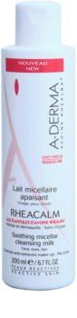 A-Derma Rheacalm pomirjajoče micelarno čistilno mleko