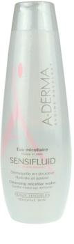 A-Derma Sensifluid tisztító micelláris víz az érzékeny arcbőrre
