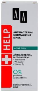 AA Cosmetics Help Acne Skin masca de normalizare