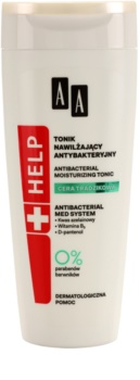 AA Cosmetics Help Acne Skin lotion tonique antibactérienne effet hydratant