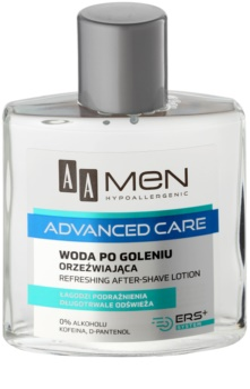 AA Cosmetics Men Advanced Care osvěžující voda po holení