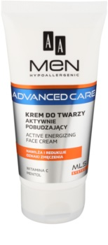 AA Cosmetics Men Advanced Care creme energizante para rosto