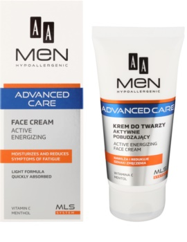 AA Cosmetics Men Advanced Care Energie-Creme für das Gesicht