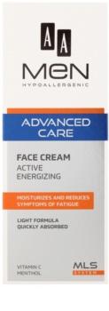 AA Cosmetics Men Advanced Care crema energizzante per il viso