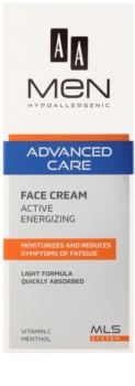 AA Cosmetics Men Advanced Care Energizing Cream For Face