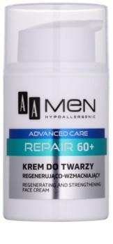 AA Cosmetics Men Advanced Care crema rigenerante riparatrice viso 60+