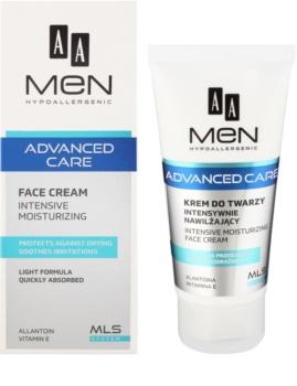 AA Cosmetics Men Advanced Care εντατικά ενυδατική κρέμα Για το πρόσωπο