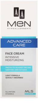 AA Cosmetics Men Advanced Care crema idratante intensa per il viso
