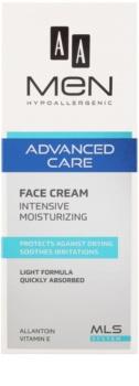 AA Cosmetics Men Advanced Care intenzív hidratáló krém az arcra