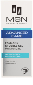 AA Cosmetics Men Advanced Care feuchtigkeitsspendende und beruhigende Creme für Gesicht und Bart