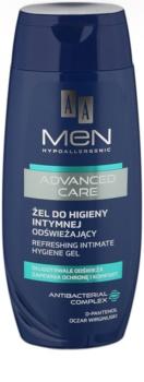 AA Cosmetics Men Advanced Care gel refrescante de higiene íntima