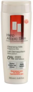 AA Cosmetics Help Atopic Skin čisticí mléko bez parfemace