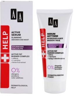 AA Cosmetics Help Stubborn Cellulite zeštíhlující sérum na břicho a pas