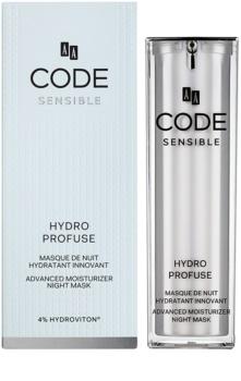 AA Cosmetics CODE Sensible Hydro Profuse noční hydratační maska pro citlivou pleť