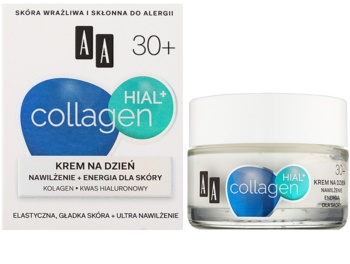 AA Cosmetics Collagen HIAL+ hydratisierende Tagescreme 30+