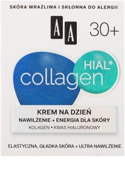 AA Cosmetics Collagen HIAL+ хидратиращ дневен крем 30+