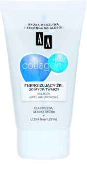 AA Cosmetics Collagen HIAL+ energetski gel za čišćenje 30+