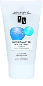 AA Cosmetics Collagen HIAL+ gel nettoyant énergisant 30+