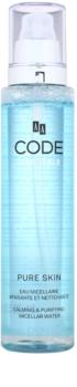 AA Cosmetics CODE Sensible Pure Skin micelláris tisztító víz