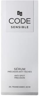 AA Cosmetics CODE Sensible sérum anti-taches pigmentaires