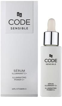 AA Cosmetics CODE Sensible seum pentru piele cu efect iluminator