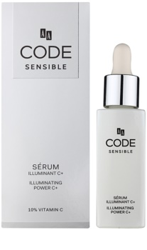 AA Cosmetics CODE Sensible озаряващ серум за лице