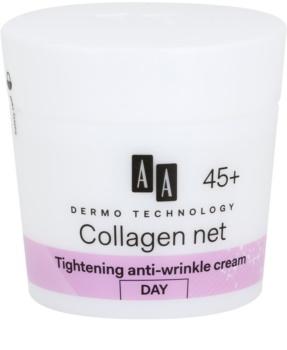 AA Cosmetics Dermo Technology Collagen Net Builder denní liftingový krém 45+