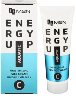 AA Cosmetics Men Energy Up intensive feuchtigkeitsspendende und revitalisierende Creme für das Gesicht