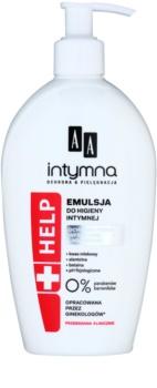 AA Cosmetics Help Intimate emulsão de higiene intima com agentes anti infeciosos