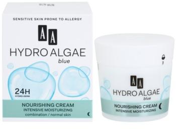 AA Cosmetics Hydro Algae Blue crème hydratante et nourrissante
