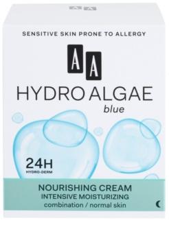 AA Cosmetics Hydro Algae Blue hidratáló és tápláló krém