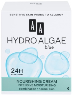 AA Cosmetics Hydro Algae Blue hidratantna i hranjiva krema