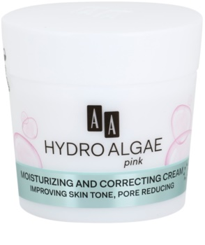 AA Cosmetics Hydro Algae Pink Colour Correcting Cream for Hydration and Pore Minimizing