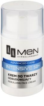 AA Cosmetics Men Intensive 50+ αναδιαμορφωτική κρέμα με θρεπτικό αποτέλεσμα