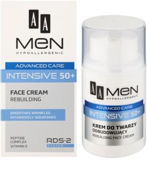 AA Cosmetics Men Intensive 50+ creme remodelador com efeito nutritivo