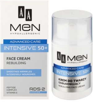 AA Cosmetics Men Intensive 50+ remodellierungs Creme mit nahrhaften Effekt