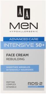 AA Cosmetics Men Intensive 50+ remodelačný krém s vyživujúcim účinkom