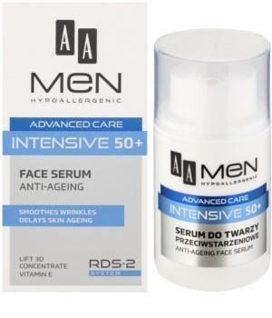 AA Cosmetics Men Intensive 50+ Serum tegen Huidveroudering