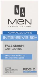 AA Cosmetics Men Intensive 50+ sérum anti-envelhecimento