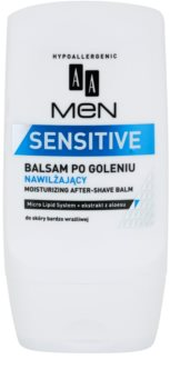 AA Cosmetics Men Sensitive balsam hidratant dupa barbierit