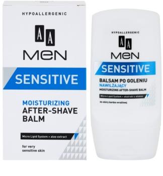 AA Cosmetics Men Sensitive baume après-rasage hydratant
