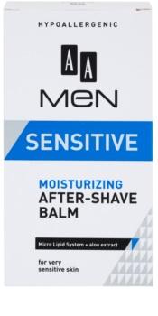 AA Cosmetics Men Sensitive hydratační balzám po holení