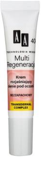 AA Cosmetics Age Technology Multi Regeneration tonizáló krém a sötét szem alatti karikákra 40+