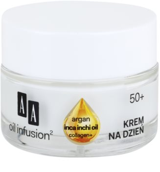 AA Cosmetics Oil Infusion2 Argan Inca Inchi 50+ crema lifting giorno antirughe