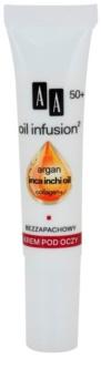 AA Cosmetics Oil Infusion2 Argan Inca Inchi 50+ Herstellende Crème  voor Oogcontouren